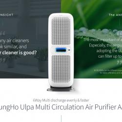 Máy lọc không khí ChungHo 6-Way ULPA A850