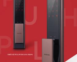 Khóa cửa điện tử Samsung SHP-DP738 vs Samsung SHS-P718 có gì khác biệt ?