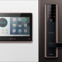 Khóa cửa vân tay Samsung SHP-DH538 lắp cho cửa nào phù hợp ?