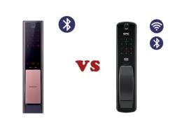 So sánh khóa cửa vân tay Samsung DP738 vs khóa vân tay Epic P8800K