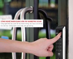Khóa điện tử Epic EF 8000L – Giải pháp vàng cho sự an toàn của gia đình hiện đại