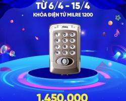 Khóa cửa điện tử giá rẻ 1-2-3 triệu