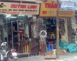 Phố bán khóa cửa tại Hà Nội