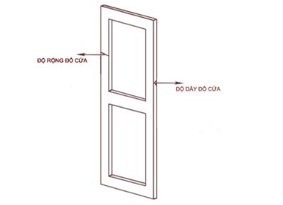 Cách đo độ dày đố cửa