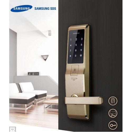 Khóa cửa vân tay Samsung chính hãng cao cấp