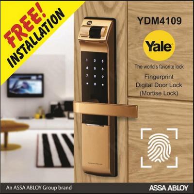 Lắp đặt miễn phí Khóa vân tay Yale 4109