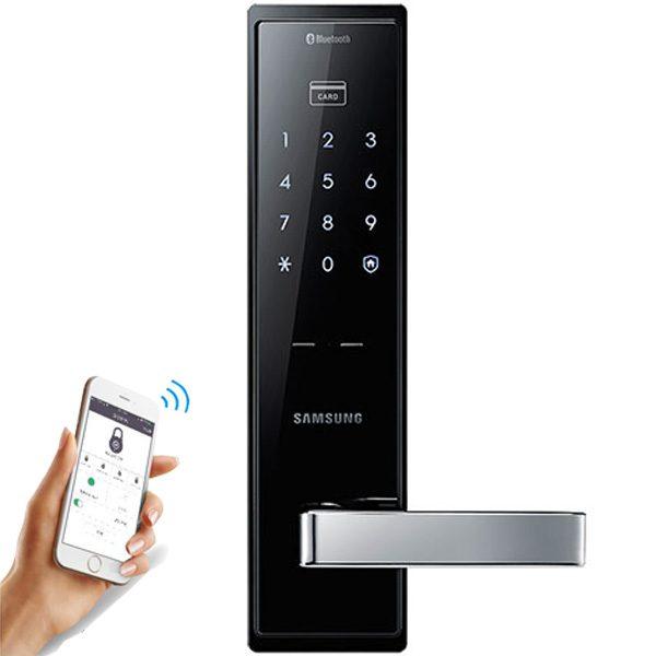 Khóa cửa mã số Samsung chính hãng