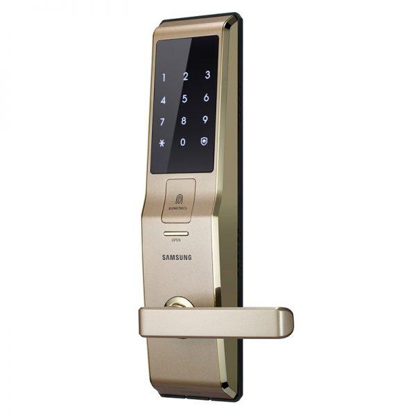 Khóa cửa điện tử Samsung SHS-H705FBG Gold