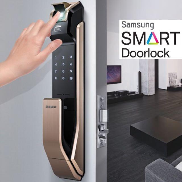 Chọn mua khóa cửa điện tử samsung nhập khẩu