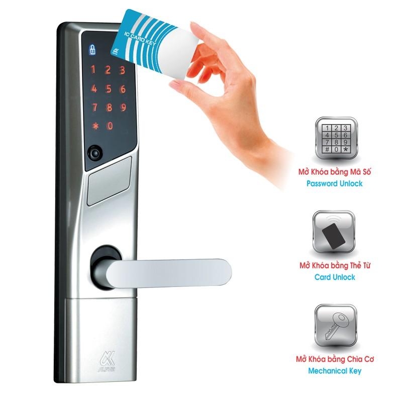 Đặc điểm chìa khóa cơ của khóa cửa nhà điện tử