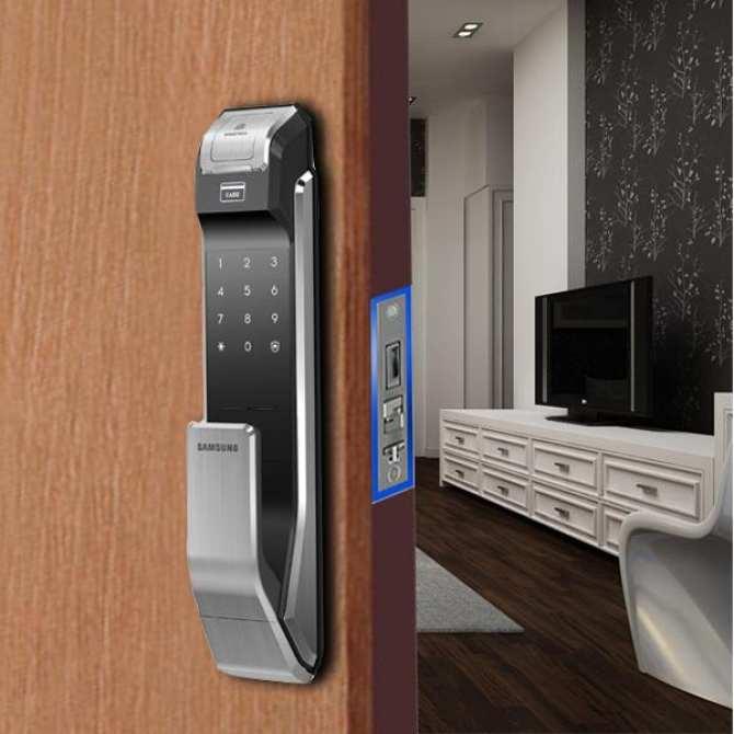 Mức giá khóa cửa vân tay samsung tùy thuộc vào từng model và thiết kế
