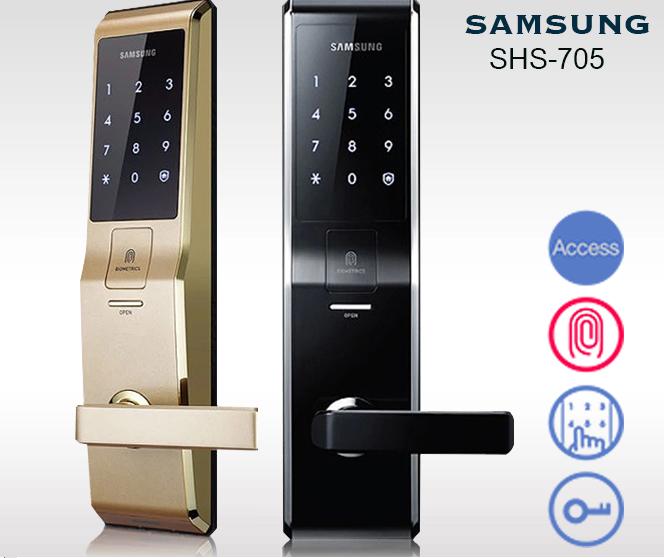 Giá khóa cửa vân tay samsung là bao nhiêu? Mẫu khóa giá tốt nhất?