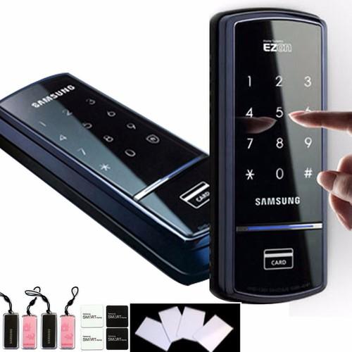 Lưu ý khi cài đặt khóa cửa điện tử Samsung SHS-1321XAK/EN