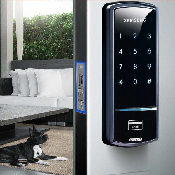 TIMELOCK.VN bán khóa cửa thông minh Samsung SHS-1321XAK/EN