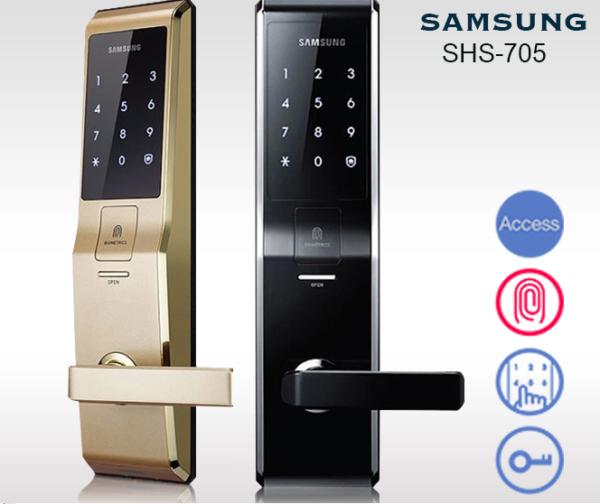 Khóa cửa điện tử điều khiển từ xa bằng điện thoại Samsung
