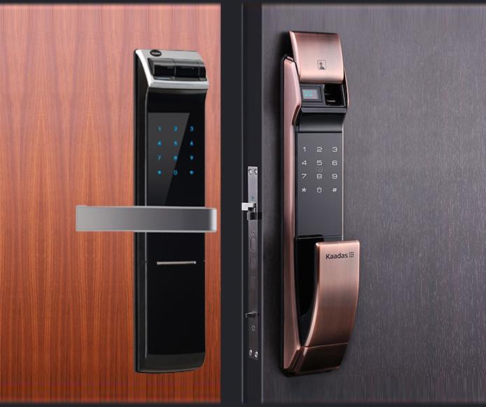 Lưu ý cần biết khi lắp đặt khóa điện tử cho cửa gỗ