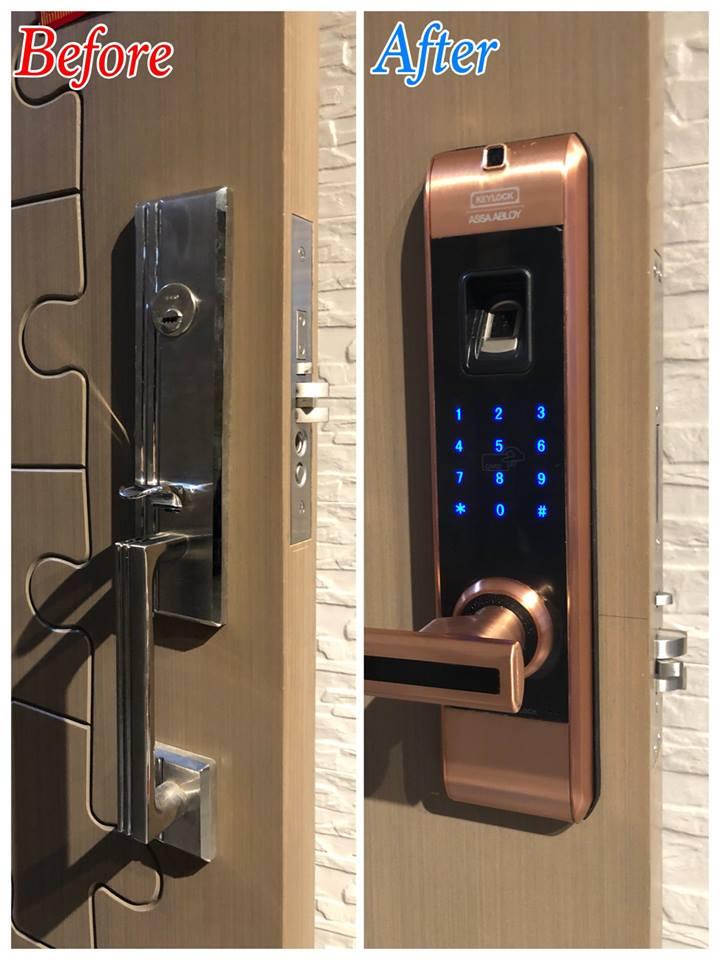 Tiện ích khi lắp đặt khóa cửa điện tử ở Hoàn Kiếm