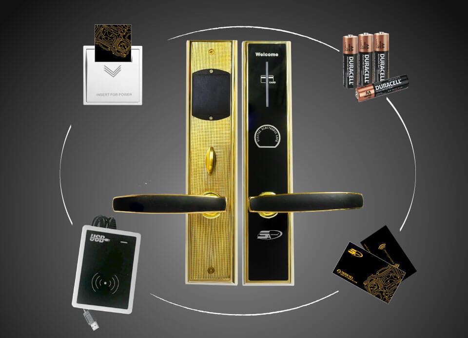 Yêu cầu cần biết khi lắp đặt khóa điện tử cho khách sạn