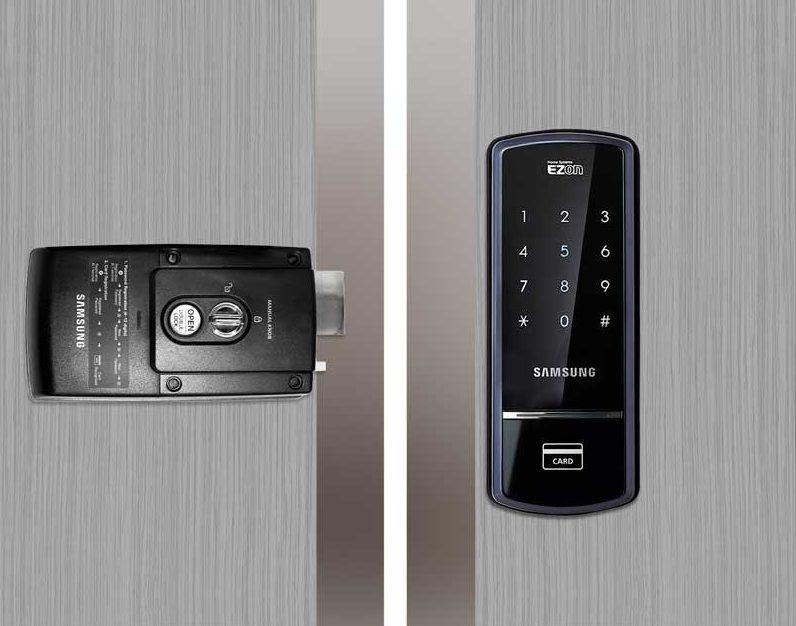 Khóa cửa điện tử Samsung SHS-1321 chính hãng