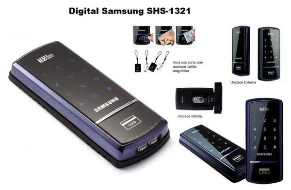 Đánh giá khóa cửa điện tử Samsung SHS-1321