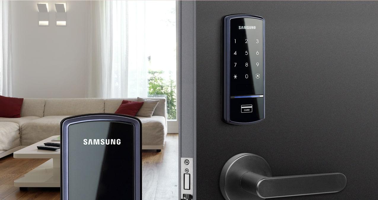 Khóa cửa điện tử Samsung giá rẻ