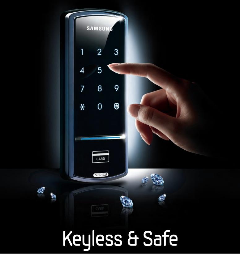 Khóa cửa thông minh Samsung SHS 1321