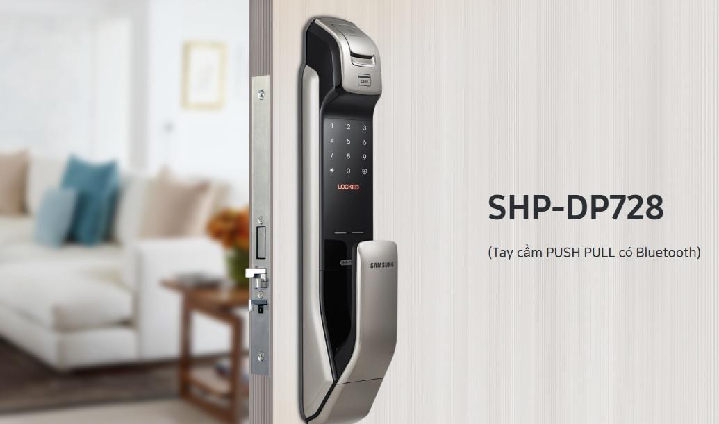 Khóa cửa thông minh Samsung SHP DP728