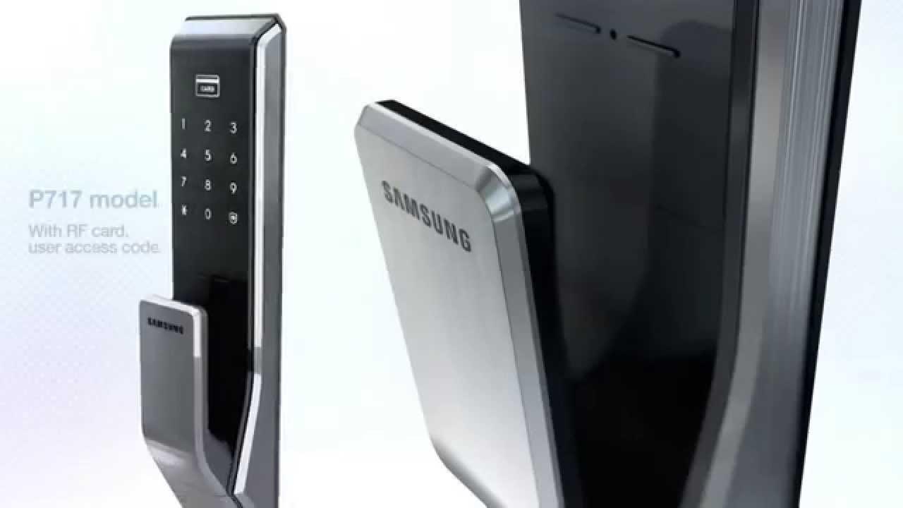 Khóa cửa thẻ từ Samsung SHS P717