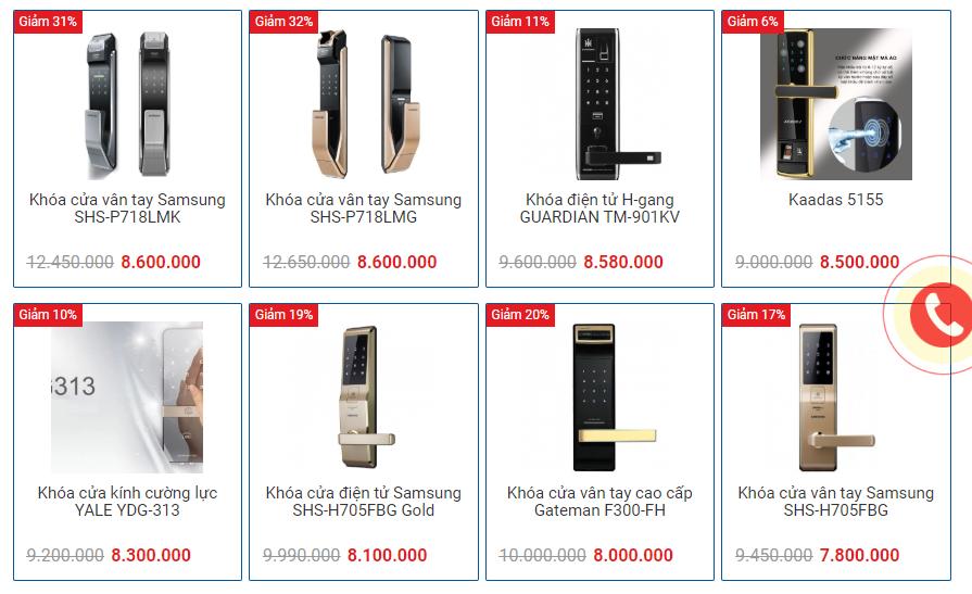 Timelock - Tư vấn lắp đặt khóa cửa vân tay tại Hà Nội giá rẻ, uy tín