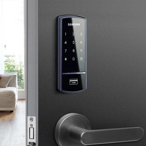 Lắp đặt khóa Samsung 1321 tại Keangnam Tower