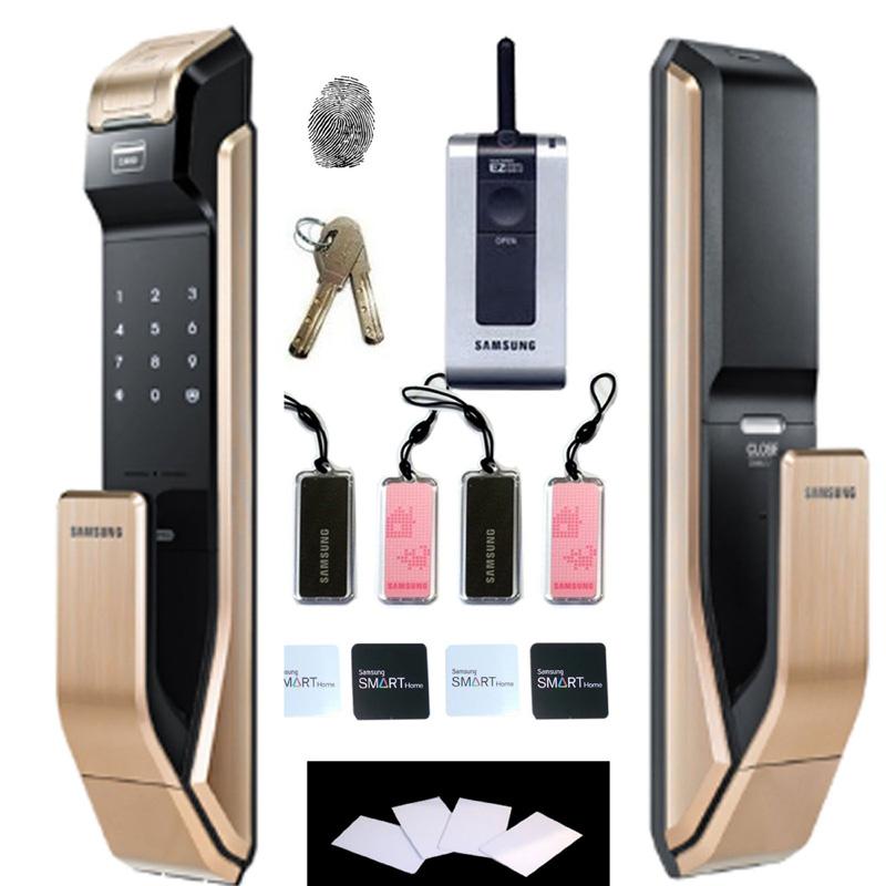 Cách đổi mật khẩu khóa cửa điện tử Samsung đơn giản