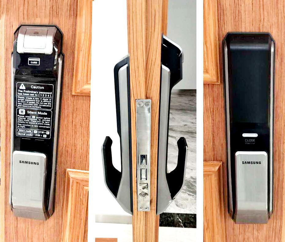 Nơi bán khóa cửa vân tay Samsung giá rẻ chất lượng nhất
