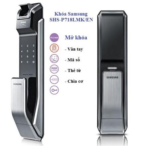 Khắc phục một số lỗi của khóa vân tay Samsung SHS P718