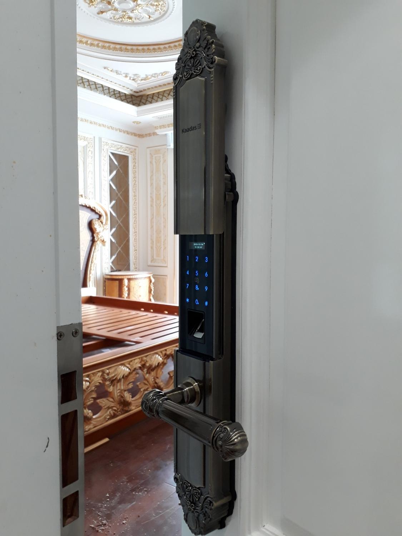 Khóa cửa vân tay dành cho biệt thự