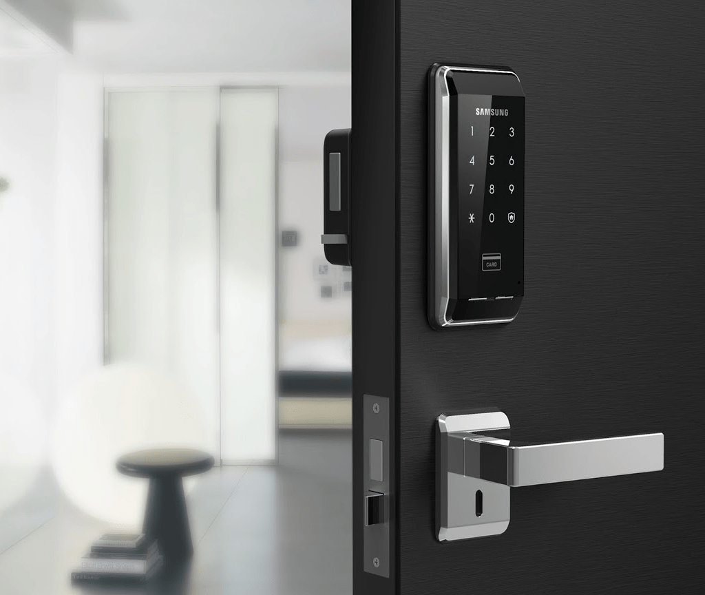 Lắp đặt khóa cửa điện tử Samsung SHS-2920 - giải pháp an ninh hiện đại