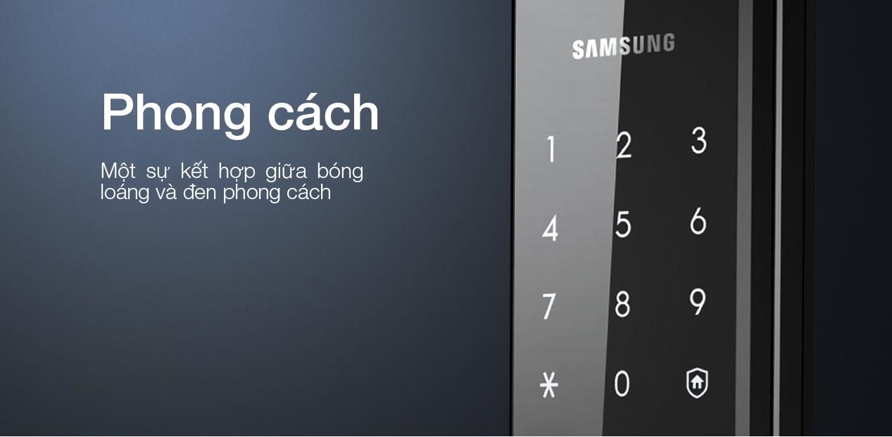Khóa cửa điện tử Samsung SHS H505 chính hãng
