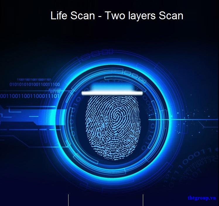 Công nghệ Live-scan ở khóa cửa vân tay