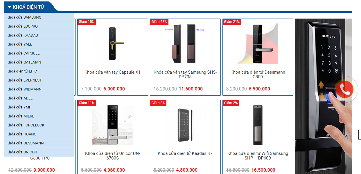 Timelock - Địa chỉ bán khóa điện tử nhập khẩu chính hãng