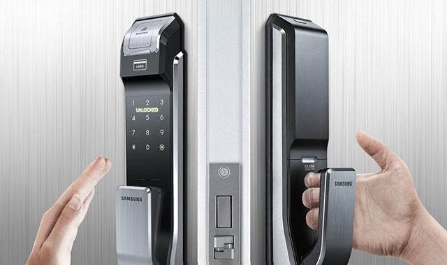 Đại lý phân phối khóa cửa Samsung chính hãng - Timelock