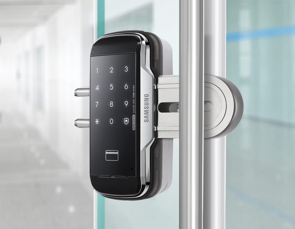 Khóa cửa Samsung cho văn phòng, showroom