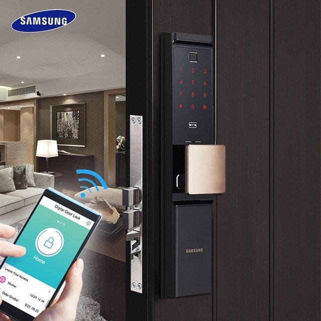 Khóa cửa vân tay Samsung giá rẻ tại Hà Nội mua ở đâu?