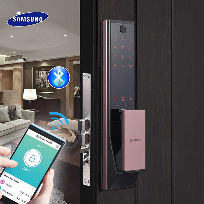 Mua khóa cửa thông minh Samsung tại nơi có uy tín
