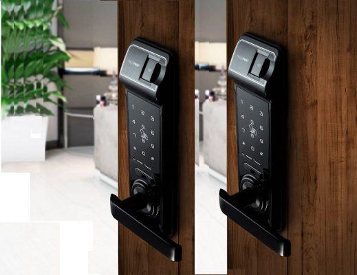 Lắp đặt khóa cửa vân tay, khóa cửa điện tử uy tín