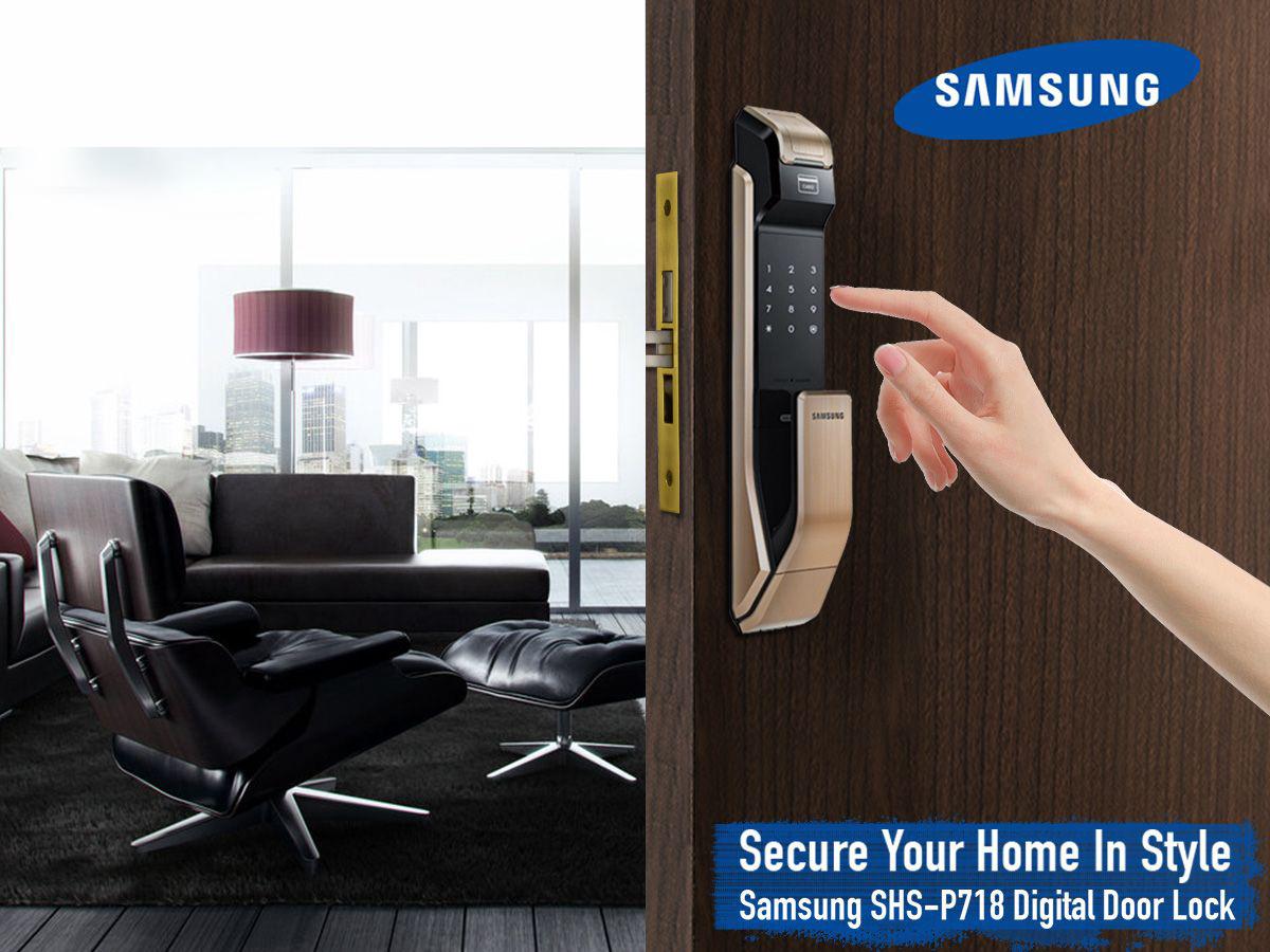 Công nghệ khóa cửa vân tay nâng tầm an toàn cao nhất