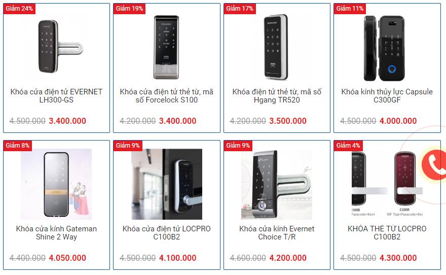 Timelock - nhà phân phối khóa cửa điện tử uy tín hàng đầu Hà Nội