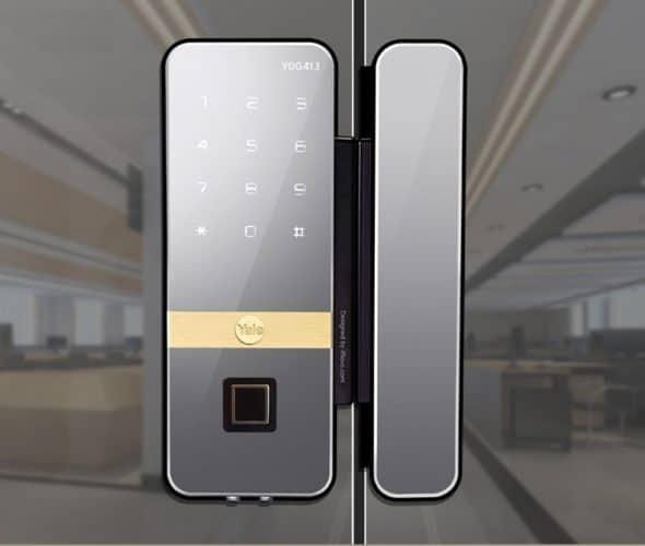 Top 4 khóa điện tử cho cửa kính Hàn Quốc chất lượng nhất