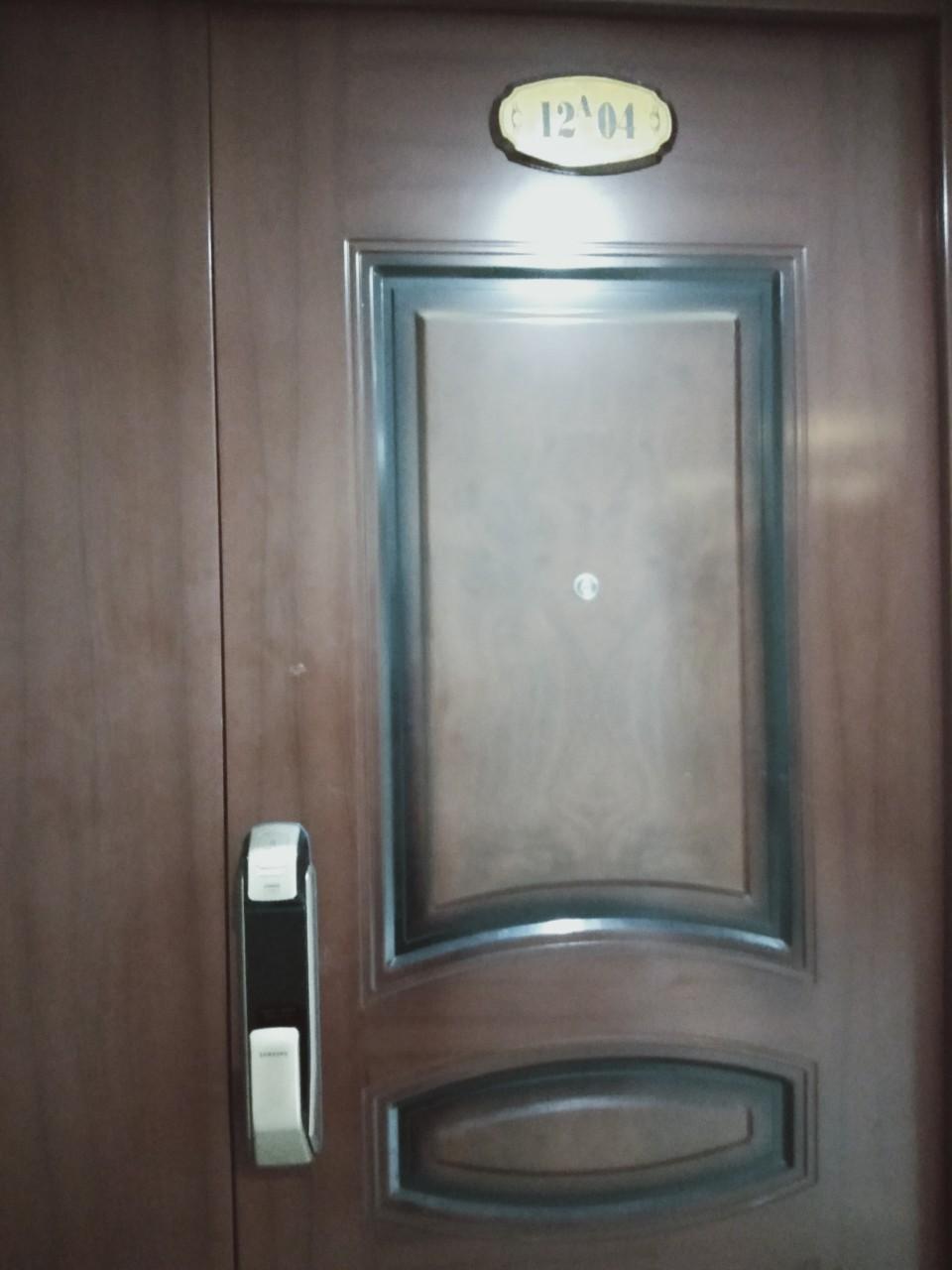 Khóa Samsung SHS-DP728 cho căn chung cư 12A04