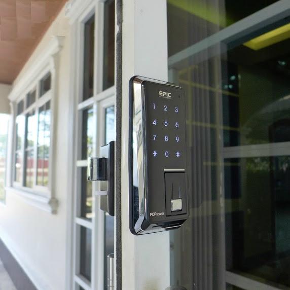 Điều kiện để lắp khóa cửa điện tử cho cửa sắt trong gia đình