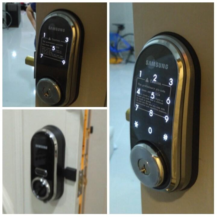 Hướng dẫn cách đổi mã số khóa cửa Samsung chi tiết