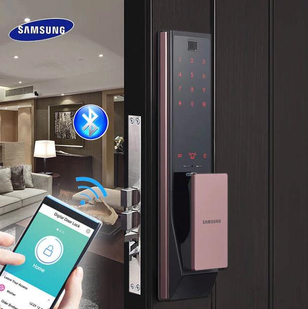 Hướng dẫn phân biệt khóa cửa điện tử Samsung chính hãng